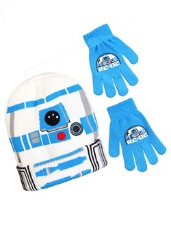 R2-D2 Stocking Hat with Gloves