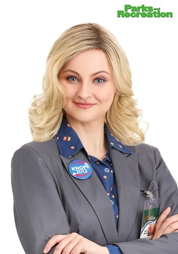 Parks and Recreation Leslie Knope Wig