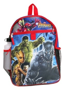Avengers Infinity Wars 5 in 1 Backpack Set