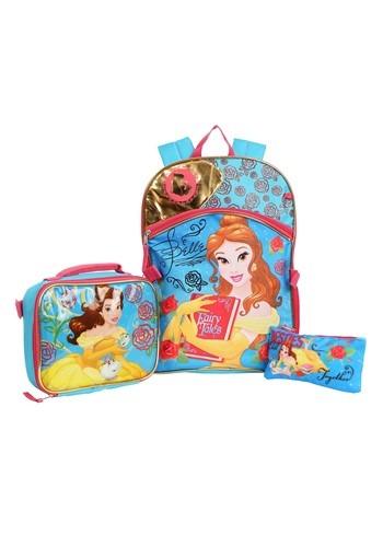 3-Piece Disney Beauty & the Beast Belle Backpack1