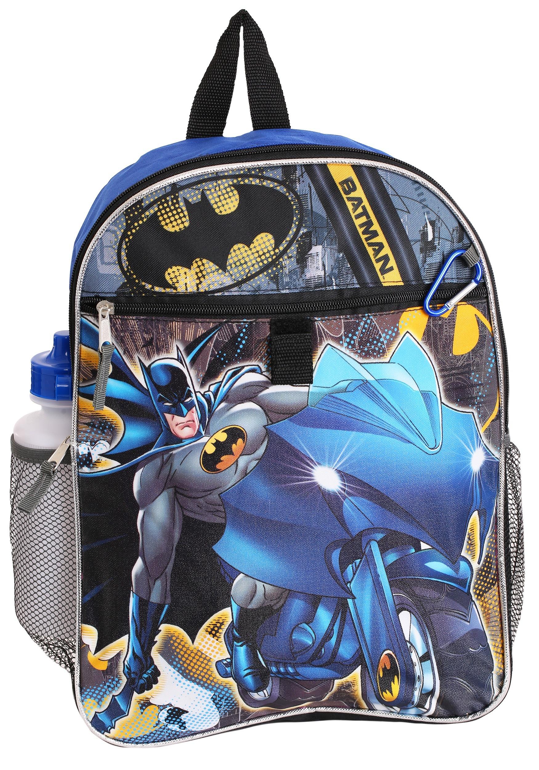 3810d310d6 Batman Backpack 5-Piece Set