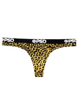 PSD Underwear- Cheetah Yellow Women's Thong