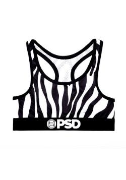 PSD Underwear- Zebra Print Women's Sports Bra