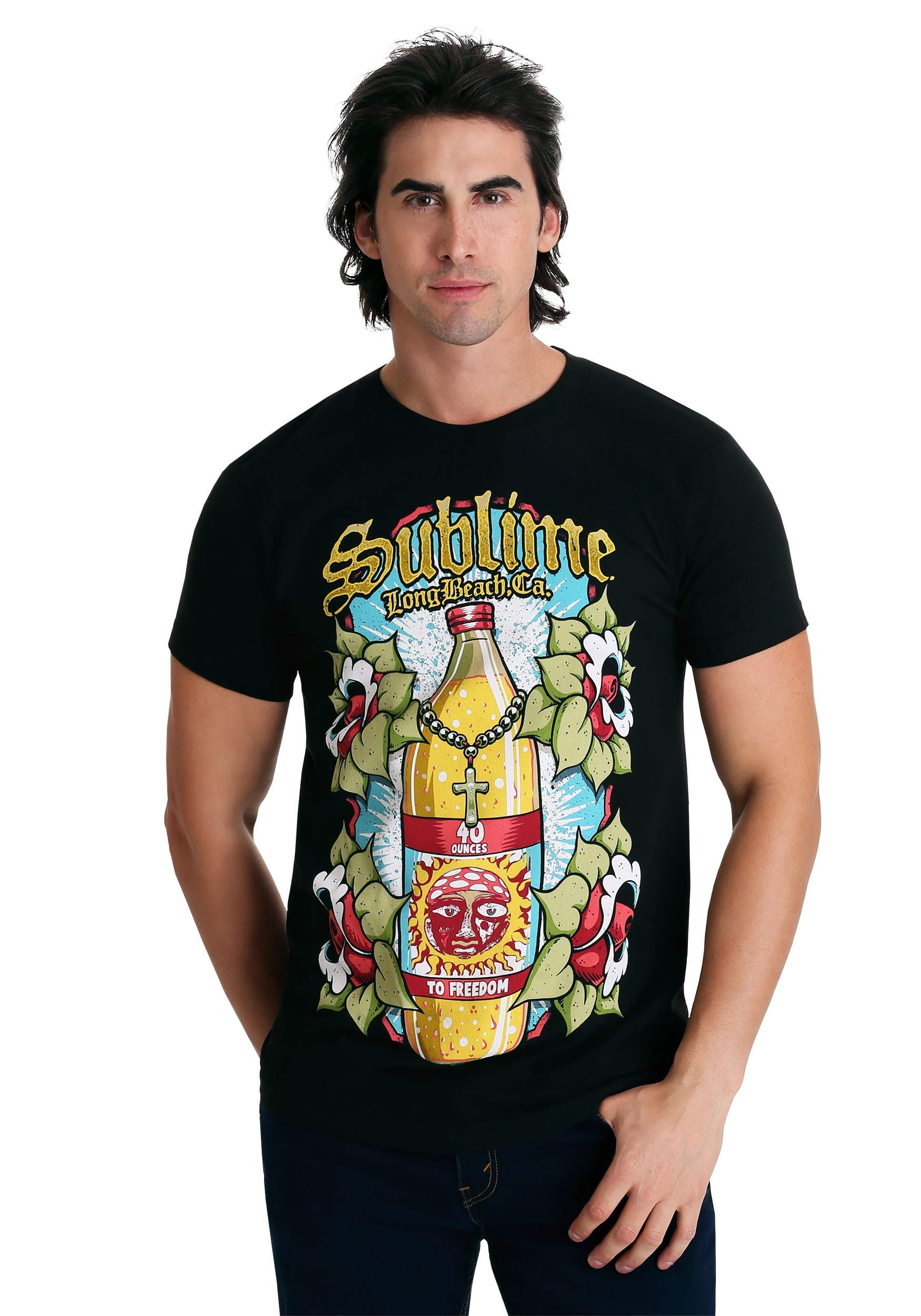 c5a455442 Sublime 40 oz Bottle T-Shirt