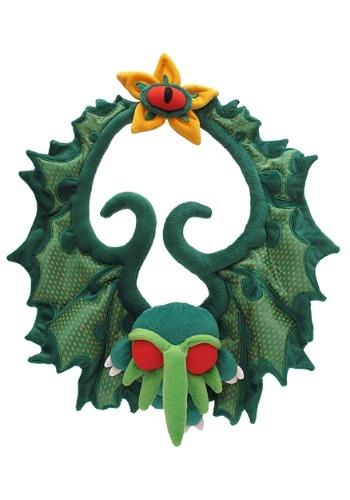 Cthulhu Plush Holiday Wreath
