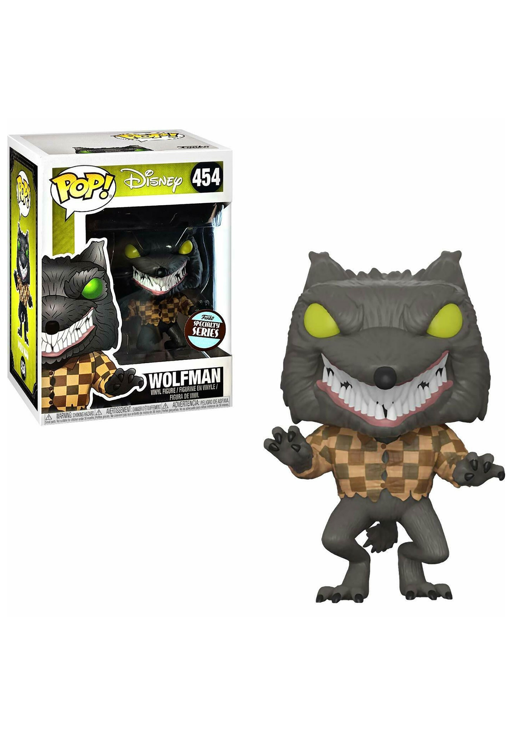 Nightmare Before Christmas Wolfman POP! Vinyl Figure