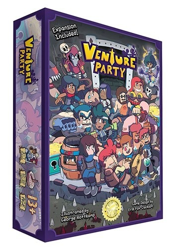 Venture Party Card Game New