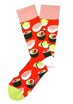 Two Left Feet Sushi Yum Yum Adult Socks