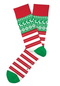 Two Left Feet Oh So Ugly Christmas Sweater Adult Socks