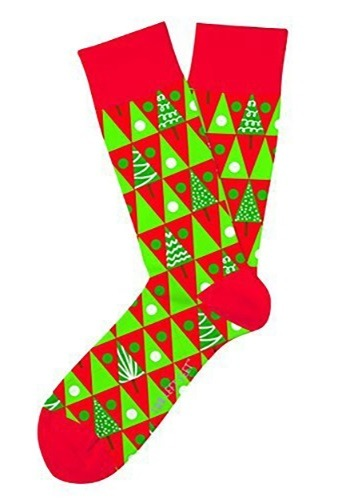 Two Left Feet Christmas Pine Grove Adult Socks