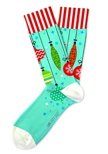 Two Left Feet Trim-A-Tree Christmas Ornament Adult Socks