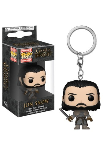 Pop! Keychain: Game of Thrones Season 8- Jon Snow1