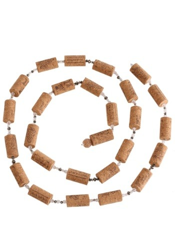 "72"" Wine Cork Garland"