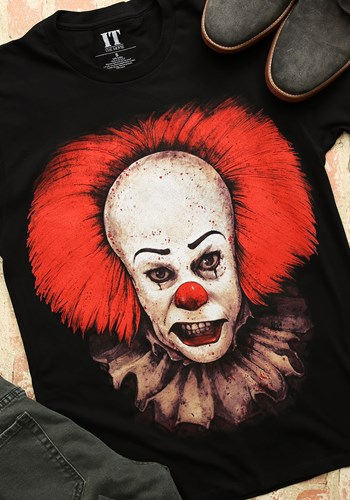Stephen King's IT Pennywise Men's Black T-Shirt