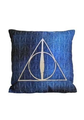"Harry Potter Deathly Hallows 14"" x 14"" Throw Pillow"