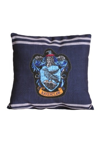 "Harry Potter Ravenclaw Stitch Crest 14"" x 14"" Throw Pillow"