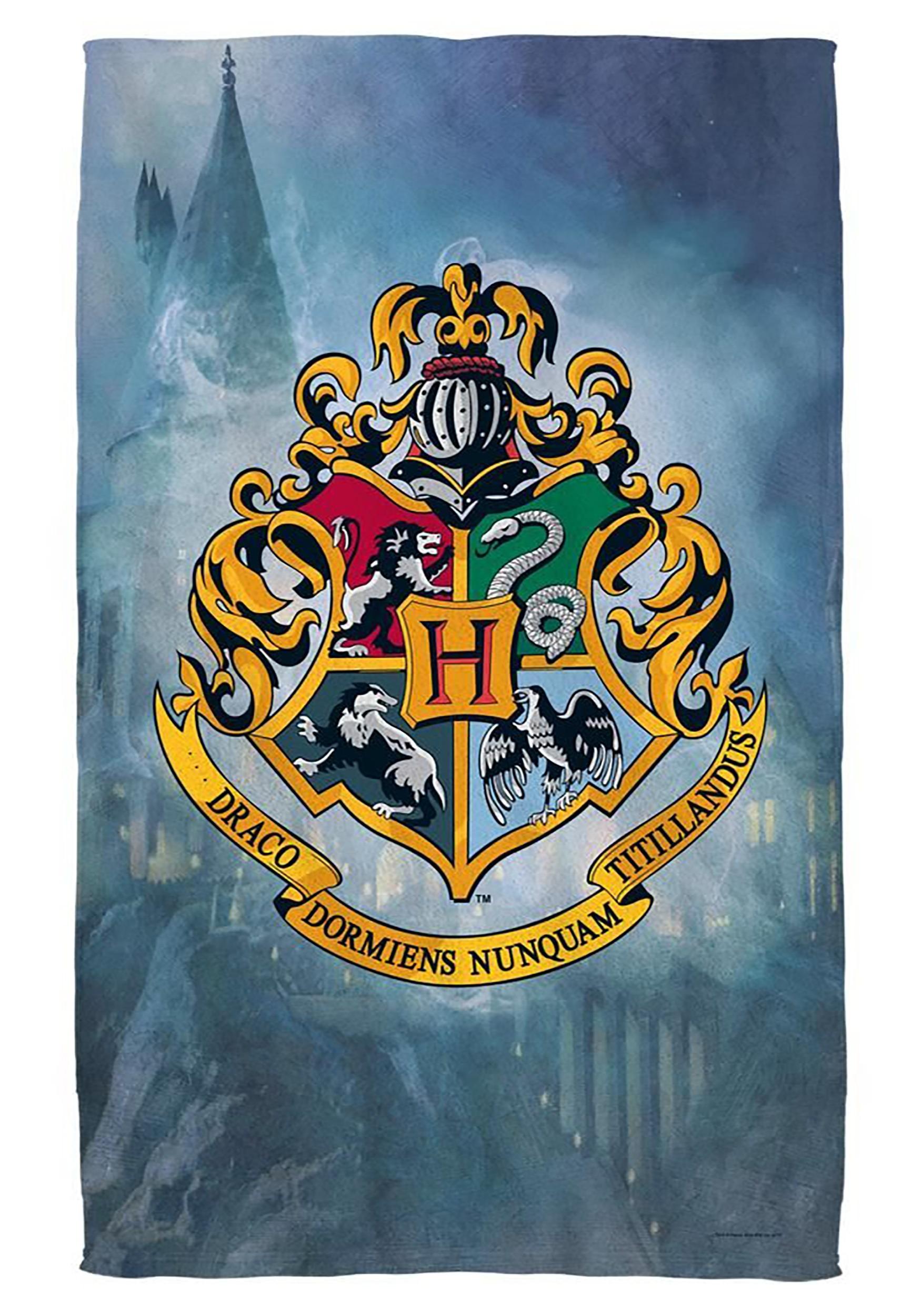 afdd14eb5eb Harry Bath Towel Potter Hogwarts Crest