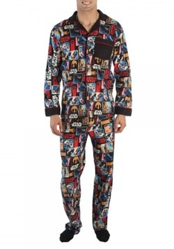 Star Wars All Over Comic Print Pajama Set