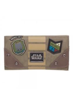 Star Wars Rogue One Rebel Flap Wallet