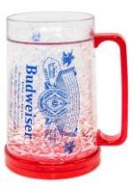 Budweiser Label 16oz Freeze Gel Plastic Mug