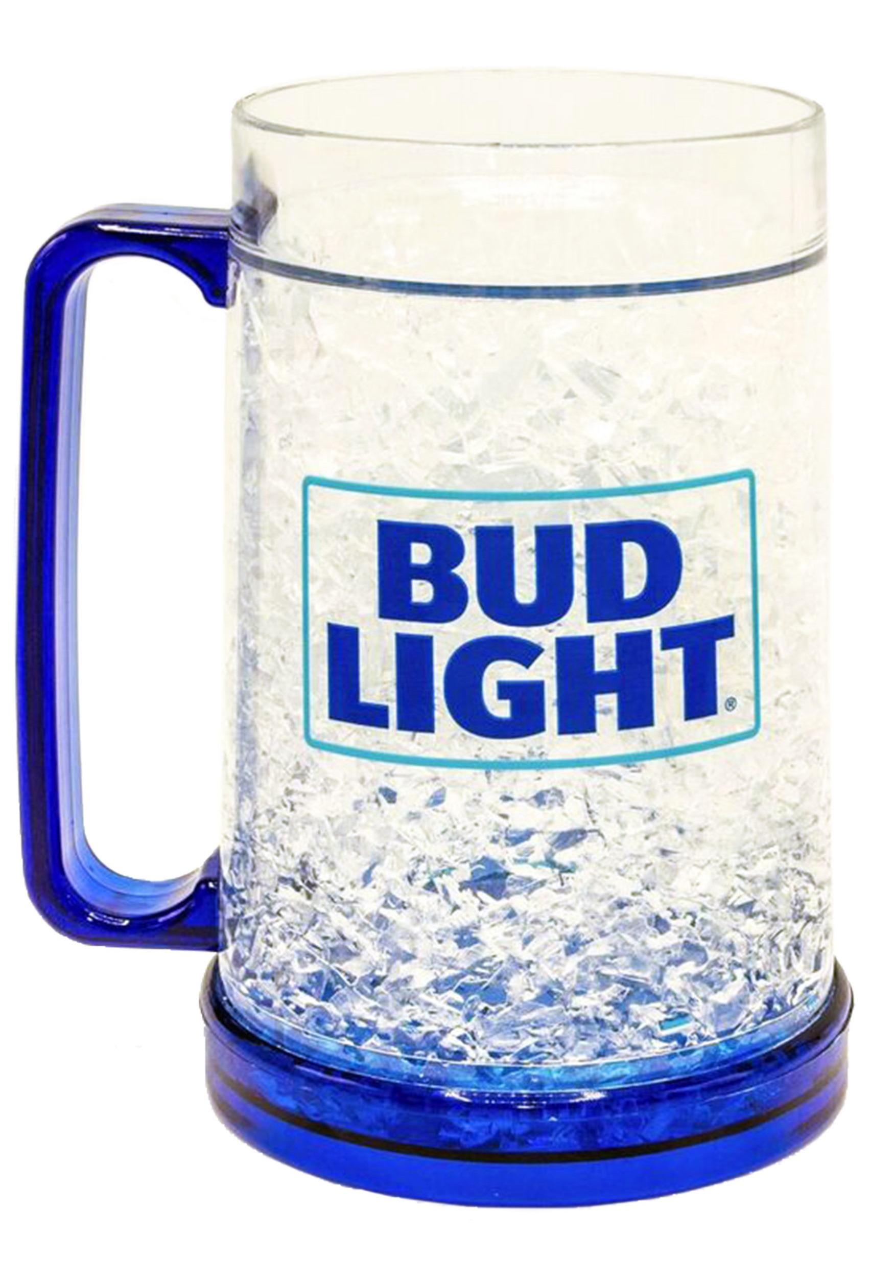 Bud Light Logo 16oz Freeze Gel Plastic Mug