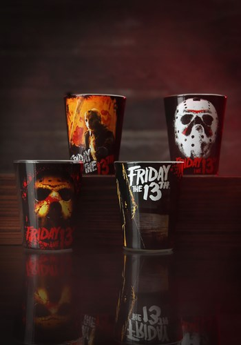 Shot Glass 4pc Set Friday the 13th