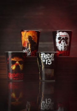 Shot Glass 4pc Set Friday the 13th Update