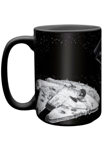 Star Wars Millennium Falcon Color Change Ceramic Mug