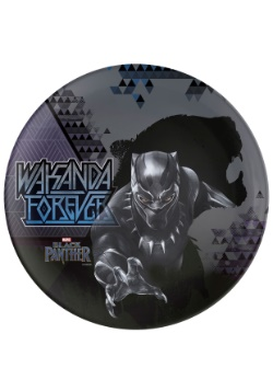 10in Black Panther Wakanda Forever Melamine Plate