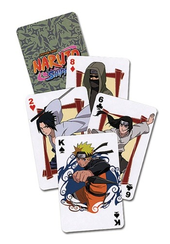 SHIPPUDEN NARUTO PLAYING CARDS