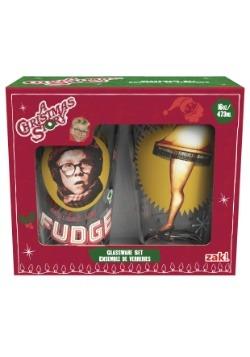 16 oz A Christmas Story 2 Piece Glassware Set