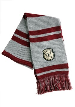 Harry Potter Platform 9 3/4 Striped Scarf with Foil