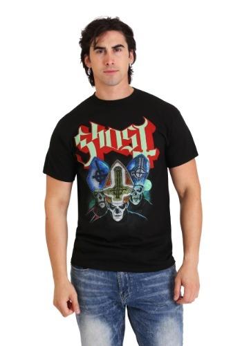 Mens Ghost Trinity Black T-Shirt