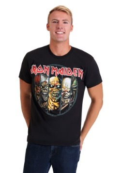 d7ef14857fa Mens Iron Maiden Eddie Evolution Black T-Shirt