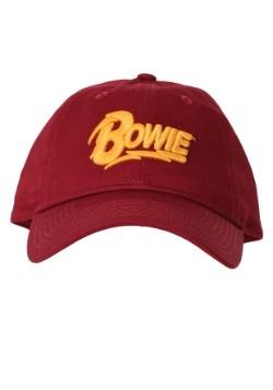 David Bowie Logo Red Dad Hat