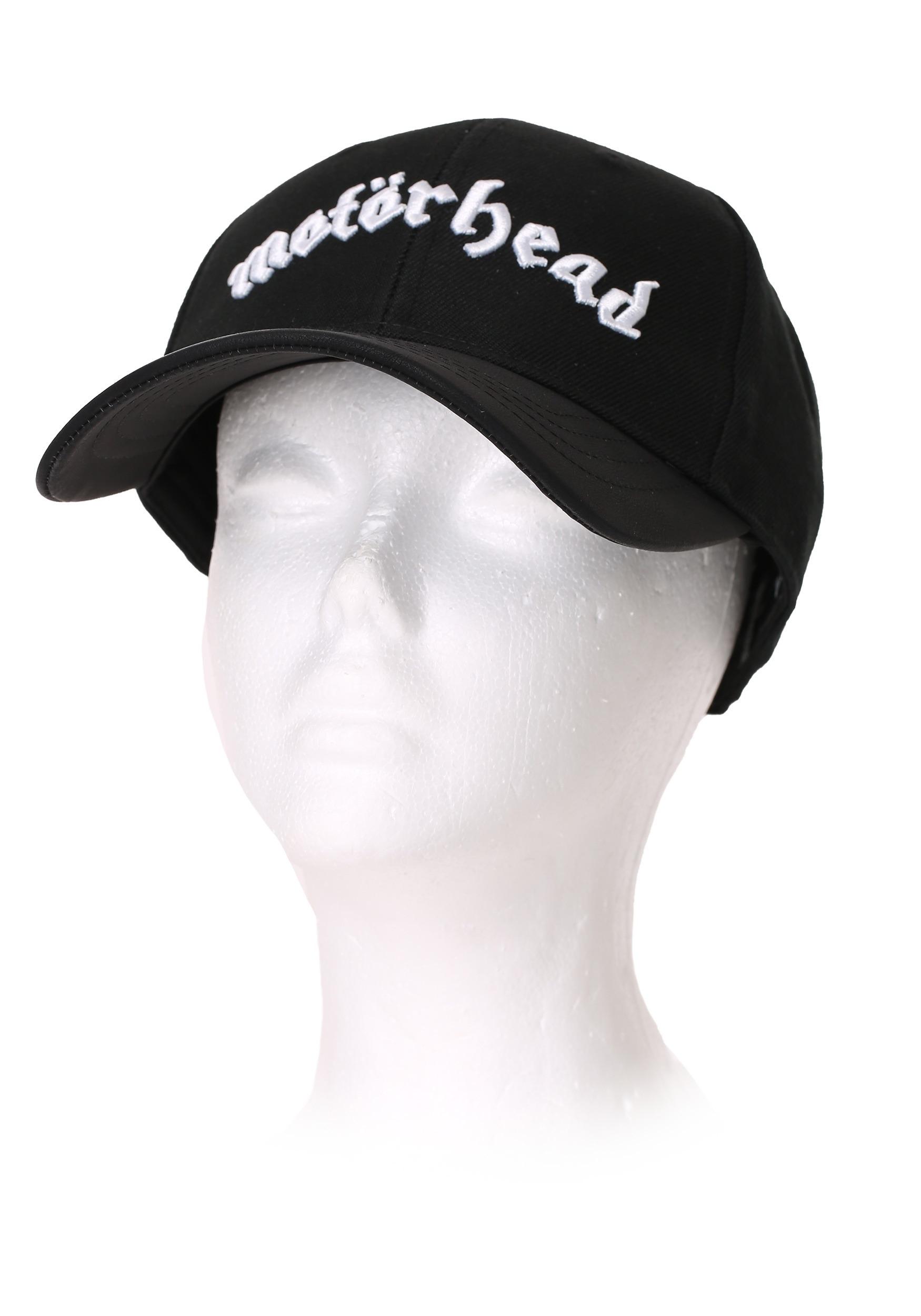 Motorhead Black Baseball Snapback Hat alt 2 d2bf279498f