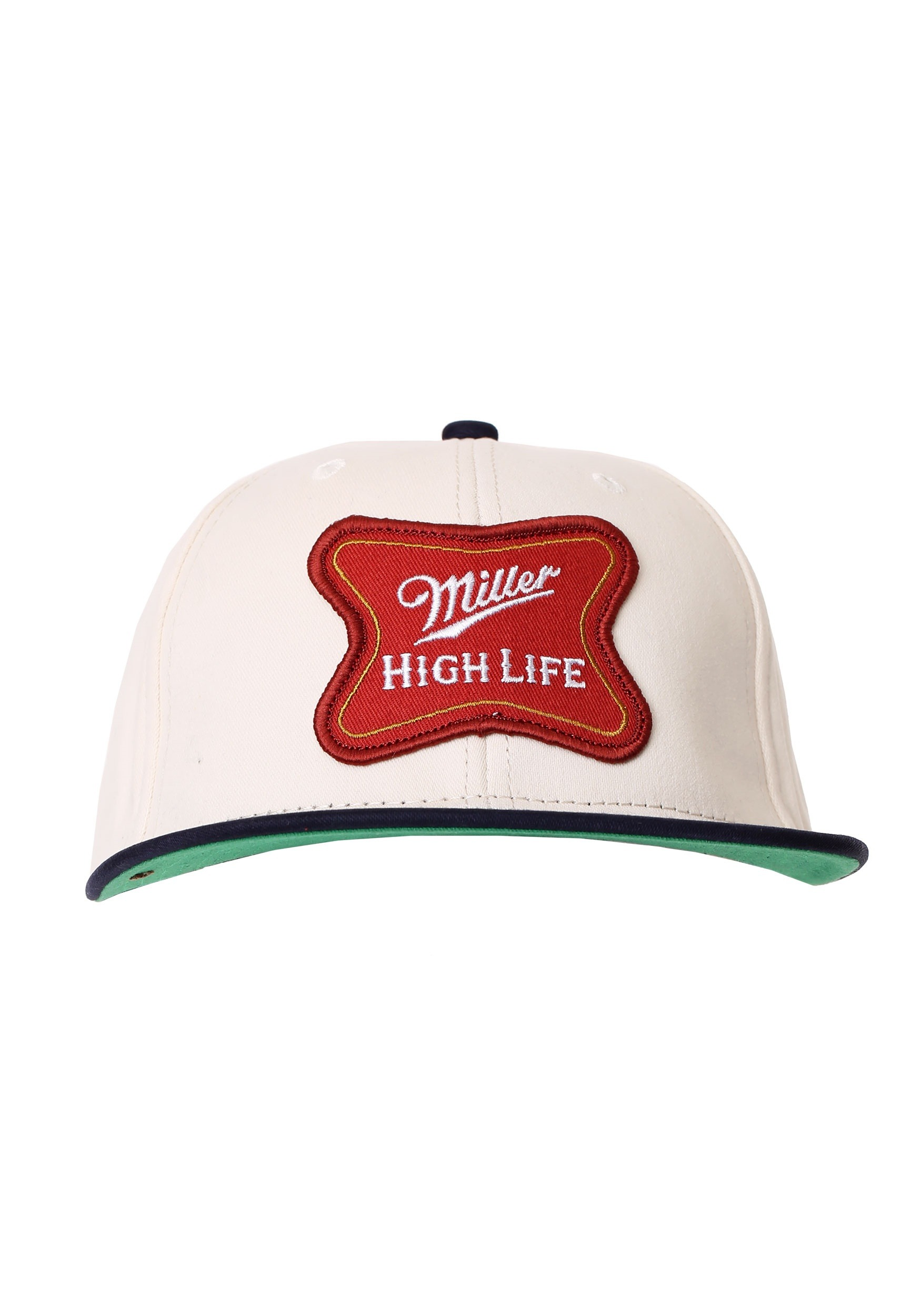 fae8d57e0e2de Miller High Life Logo Cotton Twill Snapback Hat