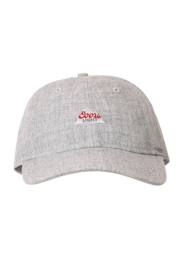 Coors Light Logo Heather Grey Dad Hat