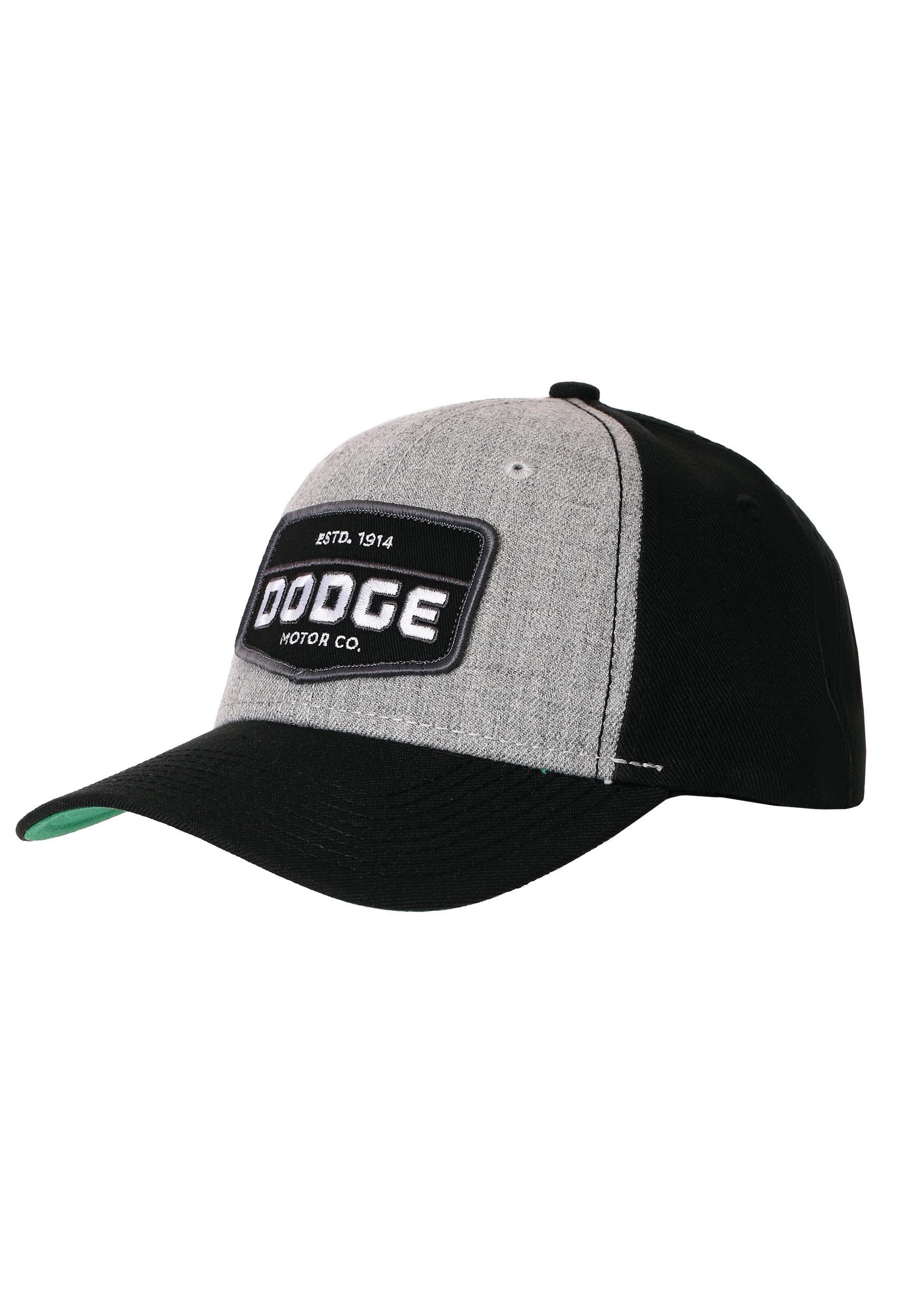 2d8305056 Dodge Motor Co. Grey/Black Wool Blend Baseball Snapback Hat