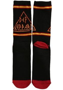 Def Leppard Logo Knit Crew Socks