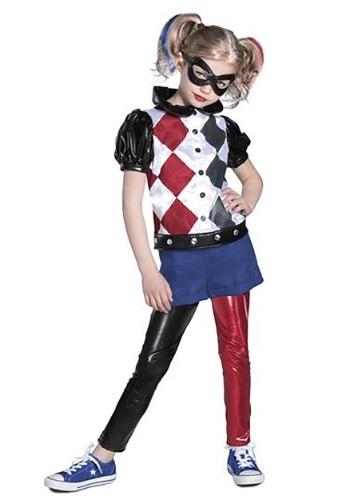 DC Superhero Girls Premium Harley Quinn Costume
