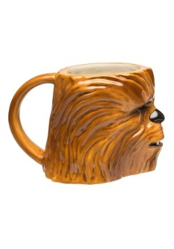 Star Wars Episode 4 Chewbacca Ceramic Sculpted Mug alt 3