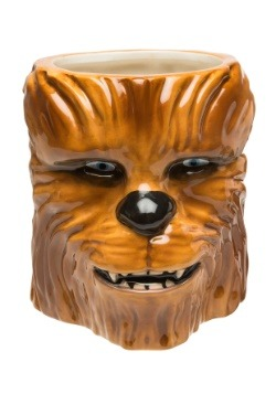 Star Wars Episode 4 Chewbacca Ceramic Sculpted Mug alt 4