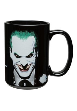 Batman Joker Black Large Ceramic Mug