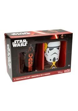 Star Wars 2pc 16oz Glass Tumbler Set Update Main