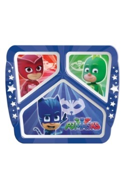 PJ Masks 3 Section Plate