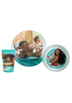 Moana 3 Piece Dinner Set