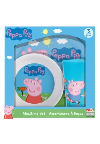 Peppa Pig 3 Piece Dinner Set
