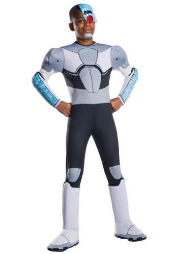 Boy's Teen Titans Cyborg Costume
