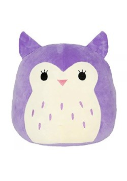 """Squishmallow Holly the Owl 8"""" Plush"""